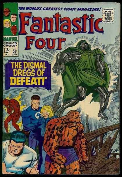 Fantastic Four Cover 58