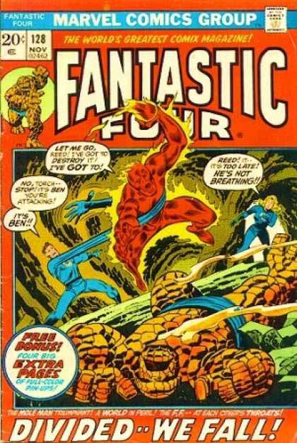 fantastic Four Marvel Cover