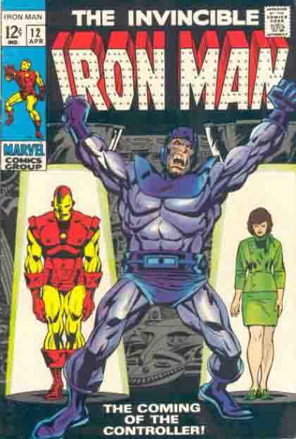 Iron-Man cover