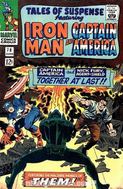 Tales of Suspense Cover 78
