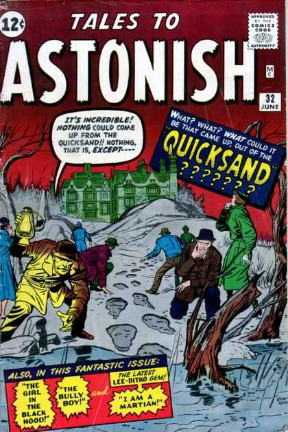 Tales to Astonish Cover