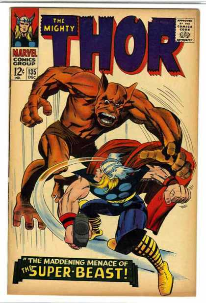 Thor Cover 135