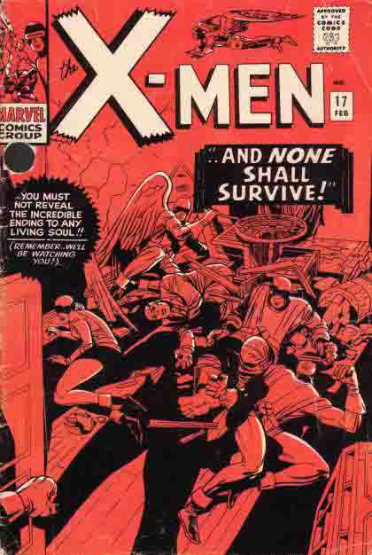 X-Men Marvel Cover